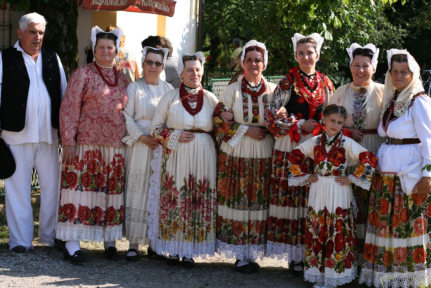 Narodna nošnja sela Greda kraj Siska