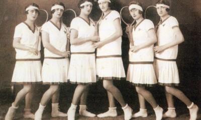 Tenisačice iz Siska, 30 – tih godina