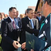Franjo Šaban gost na svečanom uručenju ključeva u Dumačama