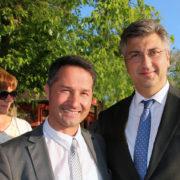Andrej Plenković dao podršku kandidatkinjama i kandidatima u Sisku