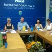 Priopćenje članova kluba vijećnika u Gradskom vijeću Grada Siska – HDZ-HSP AS-HSLS-HKS vezano uz sjednicu Gradskog vijeća Grada Siska održanu 28.8.2017.