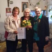 Priznanje za dugogodišnji predan rad, nesebično zalaganje i izniman doprinos uručeno osamdesetčetverogodišnjoj Kati Ivanetić